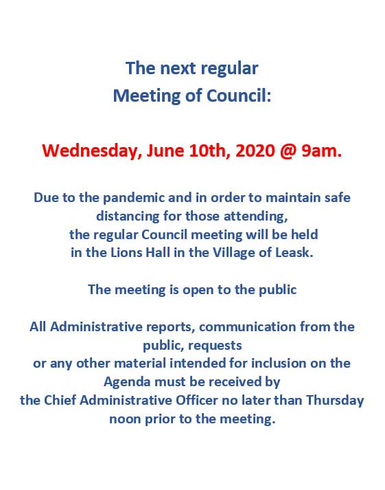 Council Meetings